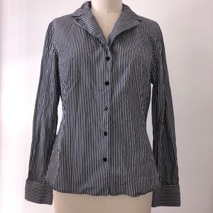 Lafayette 148 New York Size 12 Button Down Top
